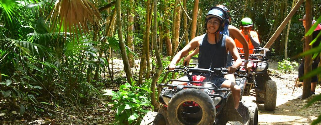 ATV, ziplines and cenote tour