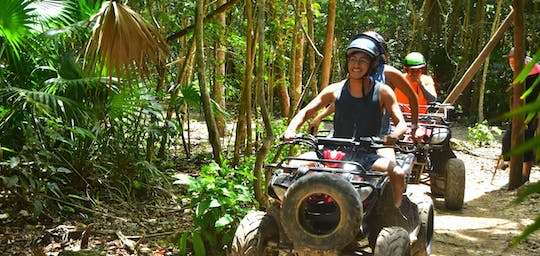 ATV, ziplines and cenote tour