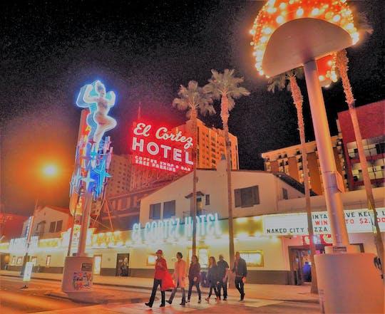Поп прогулки Куль-туре в центре Лас-Вегаса