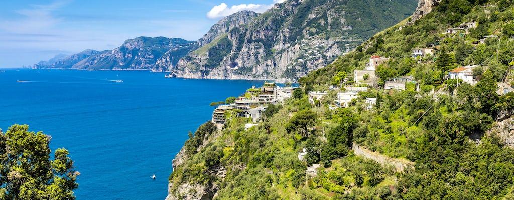 Przejazd Wybrzeżem Amalfi z lunchem