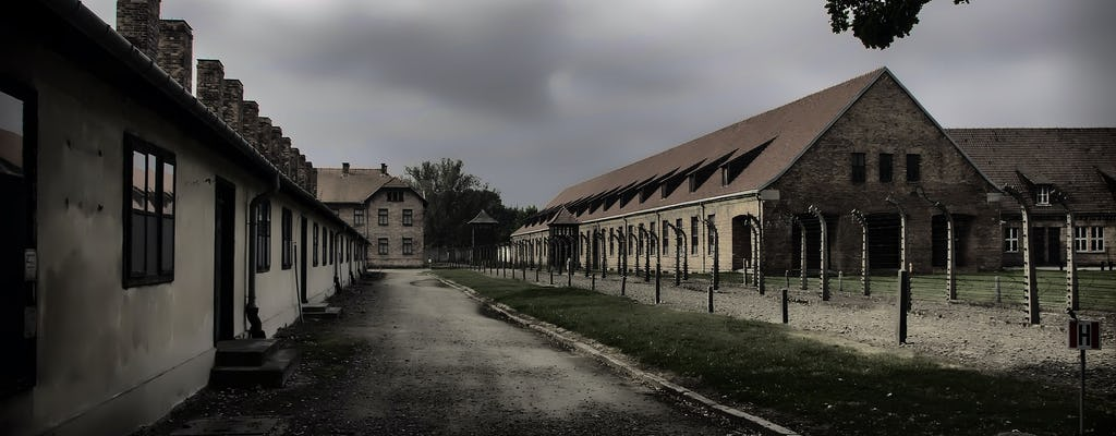 Visita guiada a Auschwitz-Birkenau com transporte