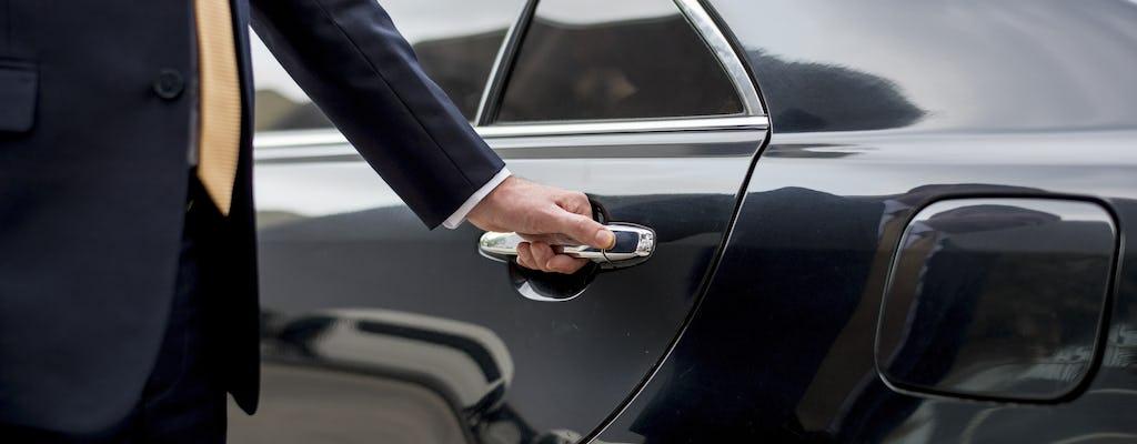 Veículo de dia inteiro com motorista que fala inglês e visita ao Pavilhão de Sustentabilidade Expo Dubai 2020