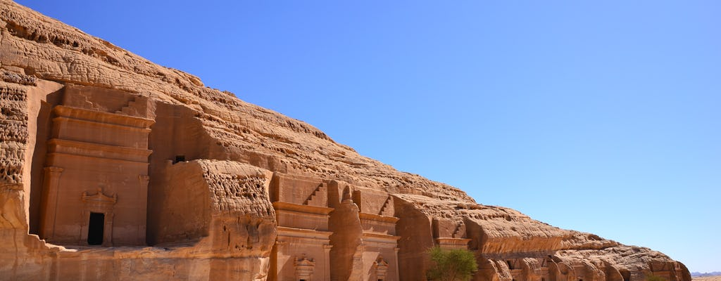 AlUla Ganztagestour mit Elephant Rock