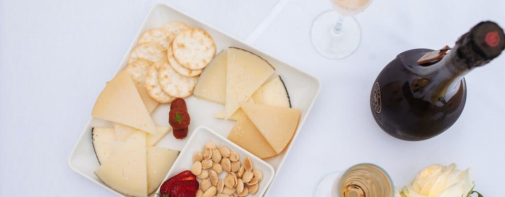 Degustazione di vino, olio e formaggio a Firenze
