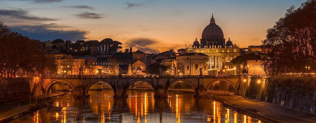 Riviercruise op de Tiber met diner