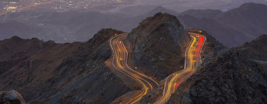 Tour della città di Taif con la montagna Al Shafa