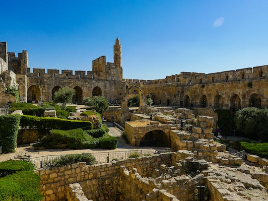 City of David and underground tour from Jerusalem