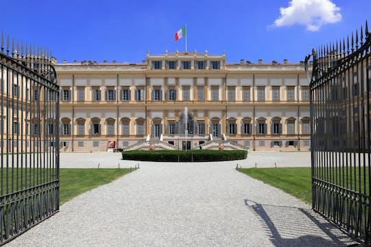 Rondleiding door het historische centrum van Monza en de koninklijke villa
