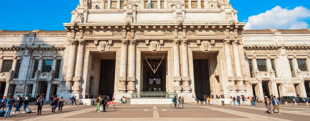 Wycieczka z przewodnikiem po dworcach kolejowych w Mediolanie