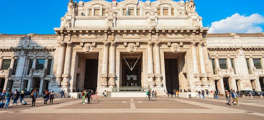 Milan railway stations guided tour