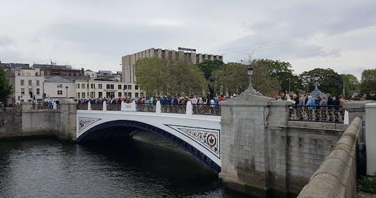Wandeltocht langs de rivier de Liffey Bridges
