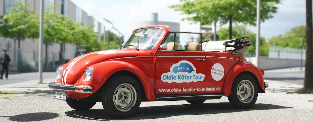 VW Beetle Cabrio Oldtimer Hire in Berlin