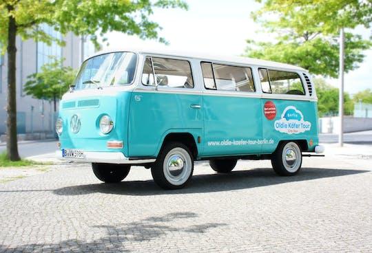 """Wynajem samochodów zabytkowych VW """"Bulli"""" w Berlinie"""