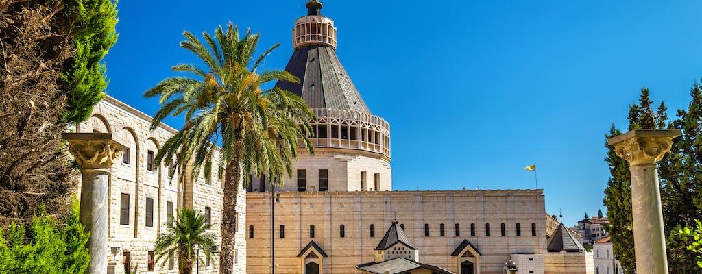 Tour de Nazaré e Mar da Galiléia saindo de Jerusalém