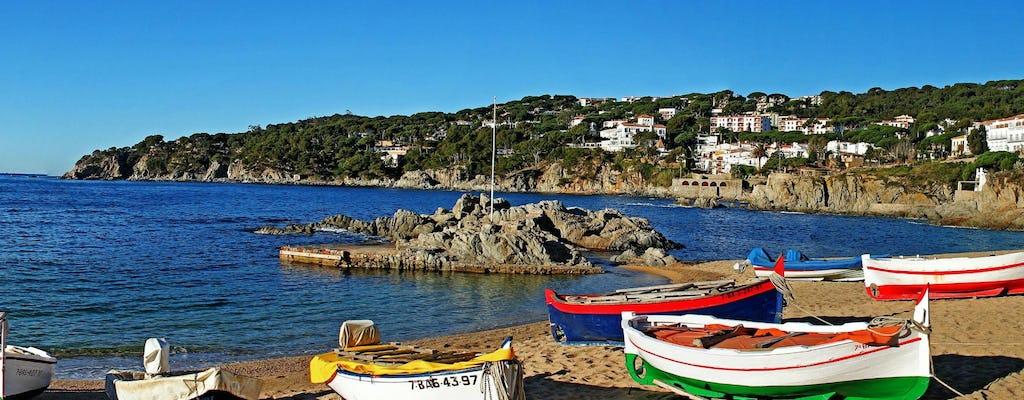 Privétour Costa Brava en Tossa de Mar en panoramische boottocht