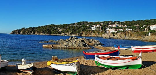 Costa Brava and Tossa de Mar private tour and panoramic boat ride