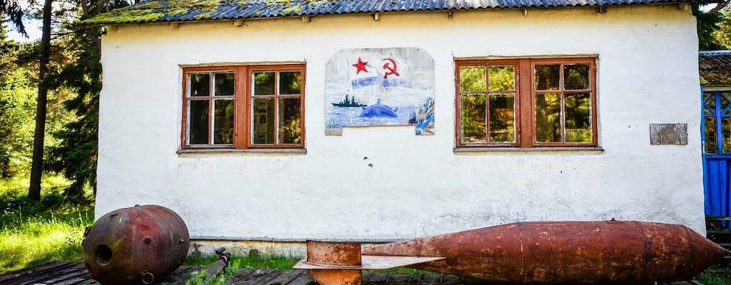 Spiagge dell'isola di Naissaar e tour a piedi militare sovietico