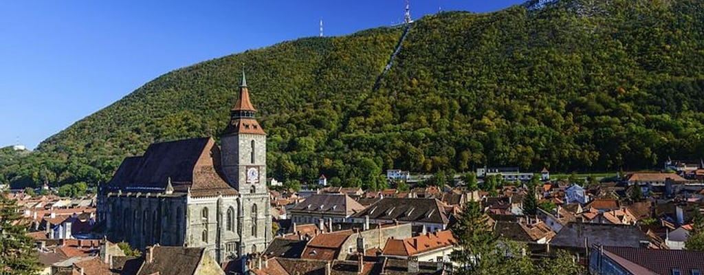 Brasov Old Town small group walking tour