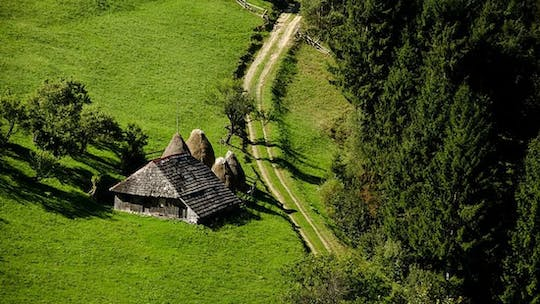 Small-group day trip to authentic Romanian mountain villages from Brasov