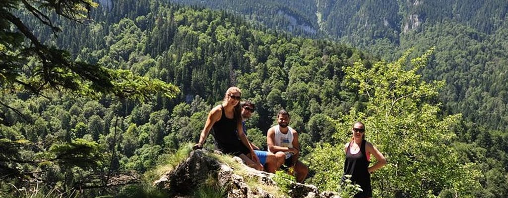 Small-group day trip to the 7 Ladders Canyon from Brasov