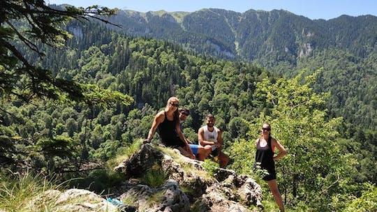 Viagem de um dia para grupos pequenos ao 7 Ladders Canyon saindo de Brasov