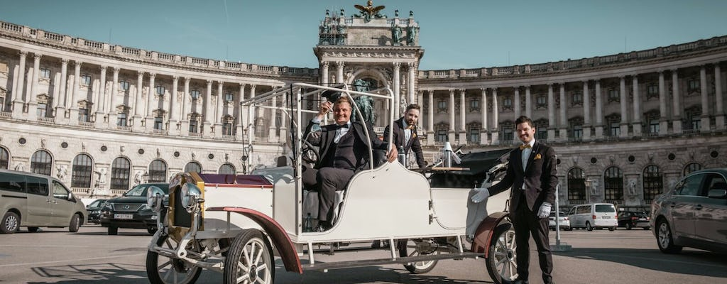 Vienna sightseeing tour in a classic electric car
