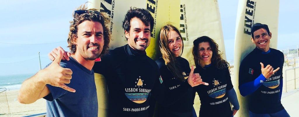 5-дневный пакет уроков серфинга в Каркавелуше