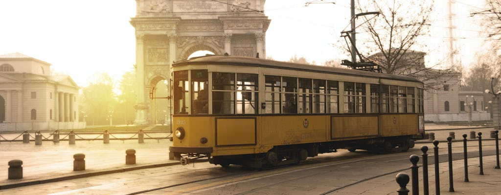 Milan tour by historical tram