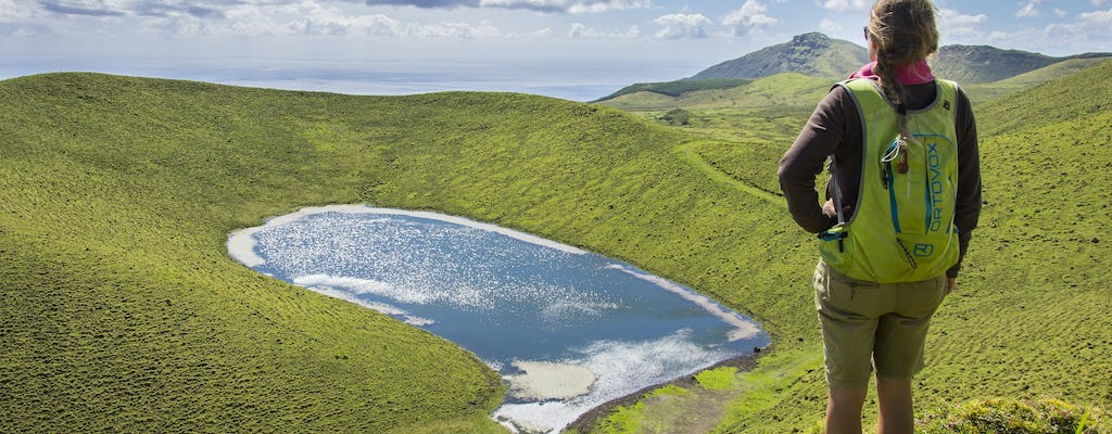 Guided tour of volcanoes and lakes on Pico Island