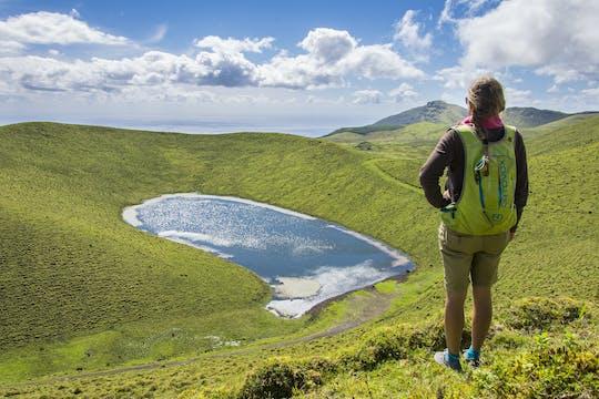 Visita guidata dei vulcani e dei laghi dell'isola di Pico