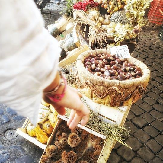 Excursão gastronômica privada de Campo de Fiori, gueto judeu e Trastevere