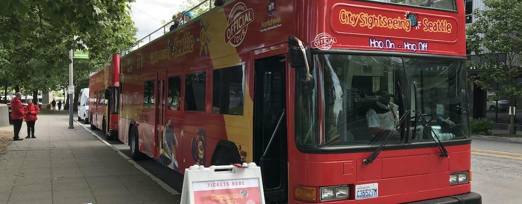Tour en autobús con paradas libres por Seattle