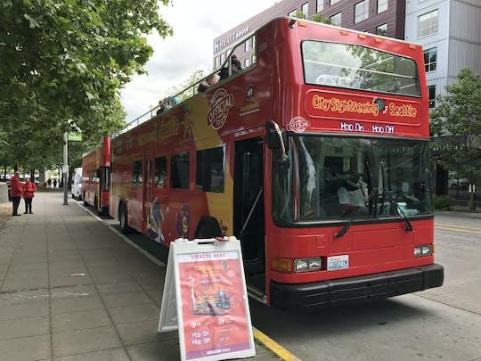 Hop-on Hop-off bus tour of Seattle