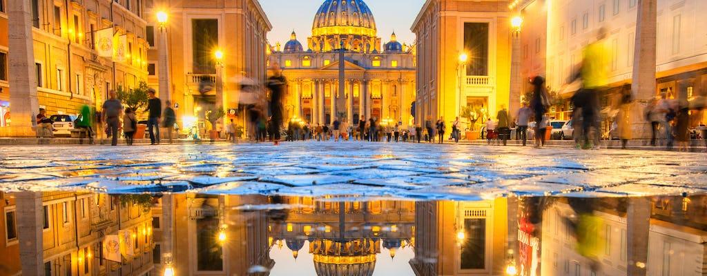 Visita guiada a los Museos Vaticanos y entrada prioritaria al Coliseo