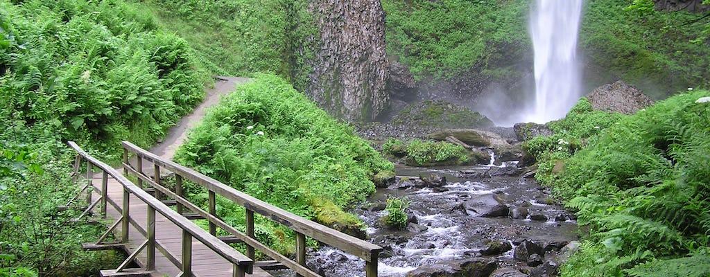 Multnomah Falls and City combination tour