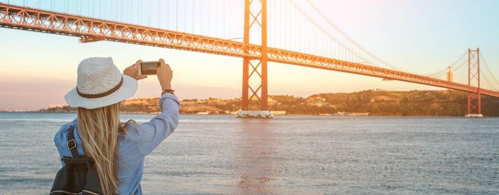 Hop-on, hop-off-sightseeingtour van een hele dag door Lissabon