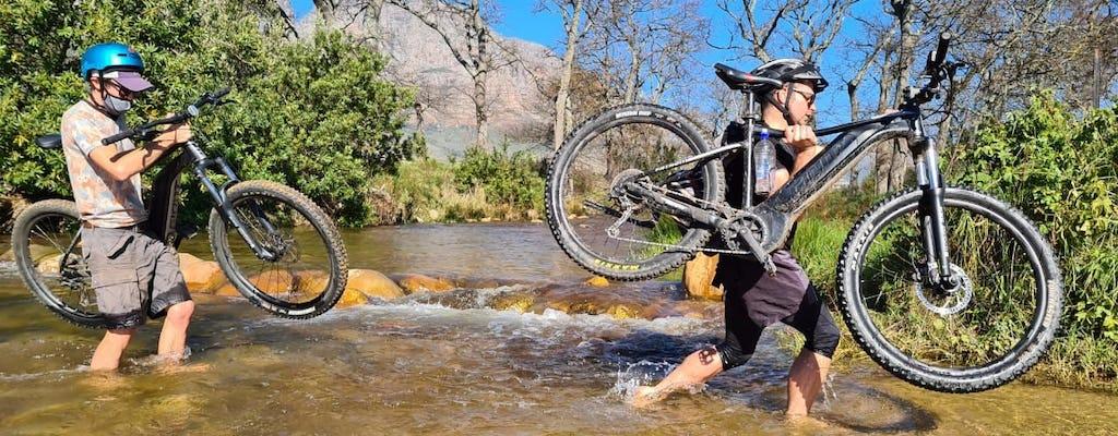 Aventura de bicicleta elétrica de Stellenbosch a Franschhoel
