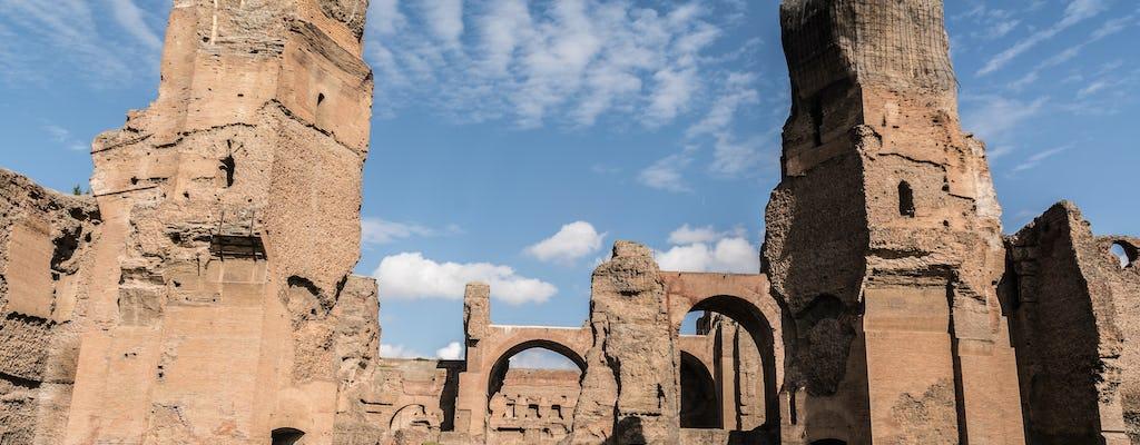 Caracalla Baths and Circus Maximus express tour