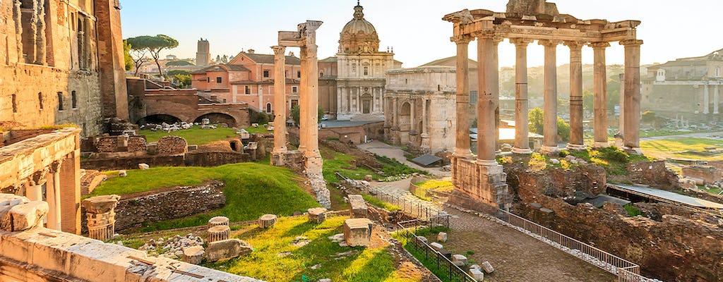 Colosseum and Roman Forum private tour