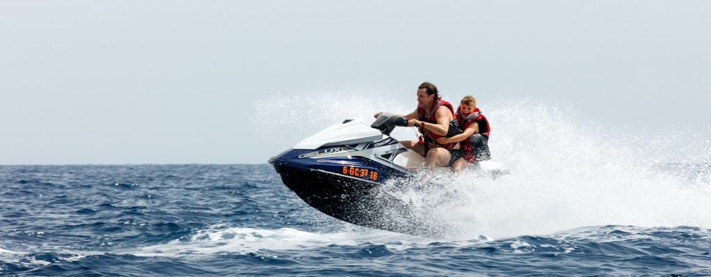 Aquasports Fast Jet Ski Rundkurs mit Transfer