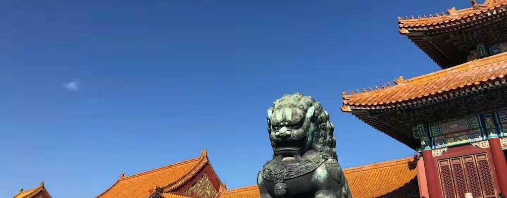 All-inclusive Beijing essentiële tour door de Verboden Stad en aanpasbare locaties