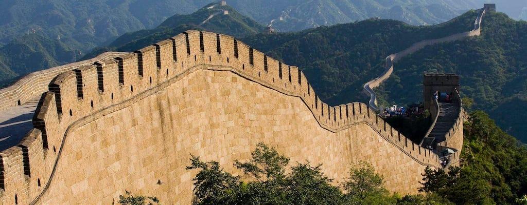 Experiencia increíble de día completo en Beijing la Gran Muralla