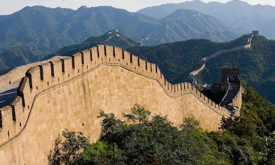 Beijing een hele dag geweldige ervaring met de Grote Muur