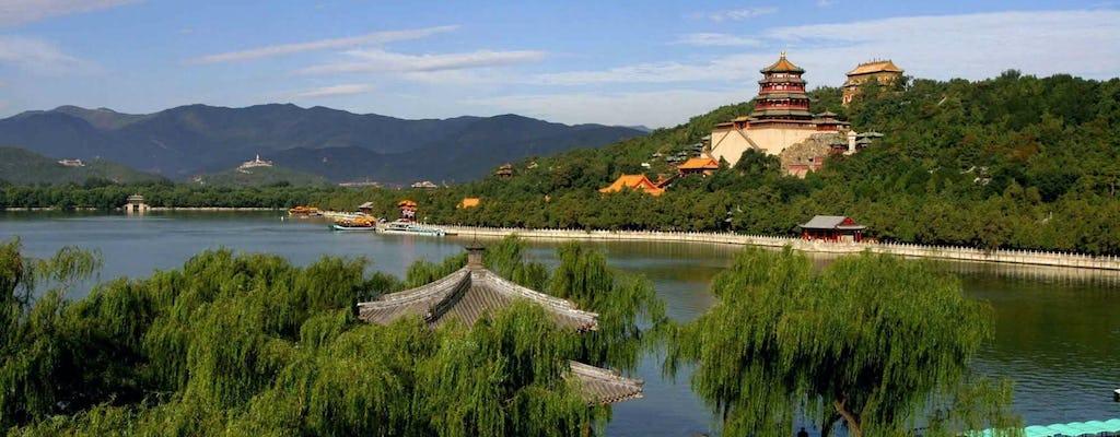 Tour privado de Beijing de la Gran Muralla de Badaling y el Palacio de Verano en Beijing