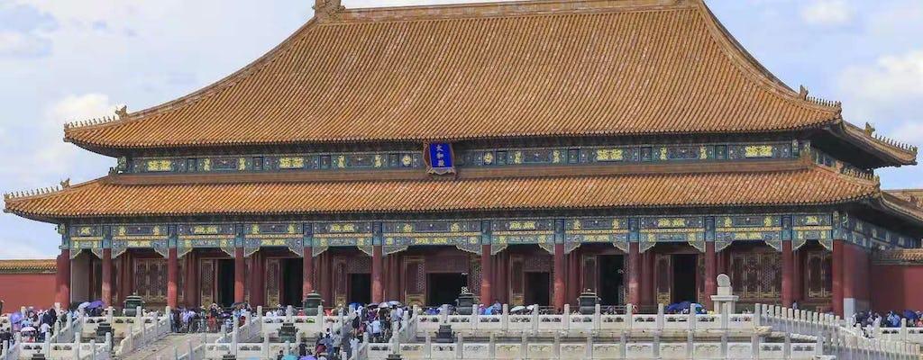 Пекин индивидуальная экскурсия на площадь Тяньаньмэнь, Запретный город и Великая Китайская стена Бадалин
