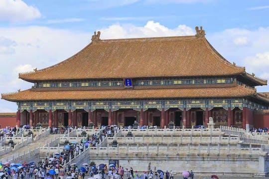 Tour privado de Pequim pela Praça Tiananmen, Cidade Proibida e Grande Muralha de Badaling