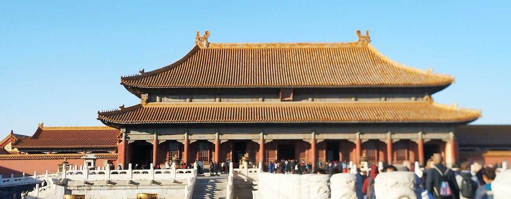 Excursão privada em Pequim pela Praça Tiananmen, Cidade Proibida e Grande Muralha de Mutianyu