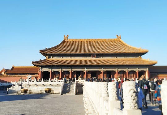 Beijing Private Tour of Tiananmen Square, Forbidden City and Mutianyu Great Wall