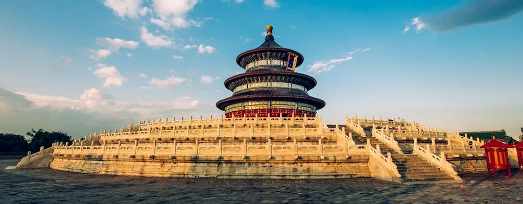Beijing private tour of Forbidden city, Temple of Heaven and Summer Palace