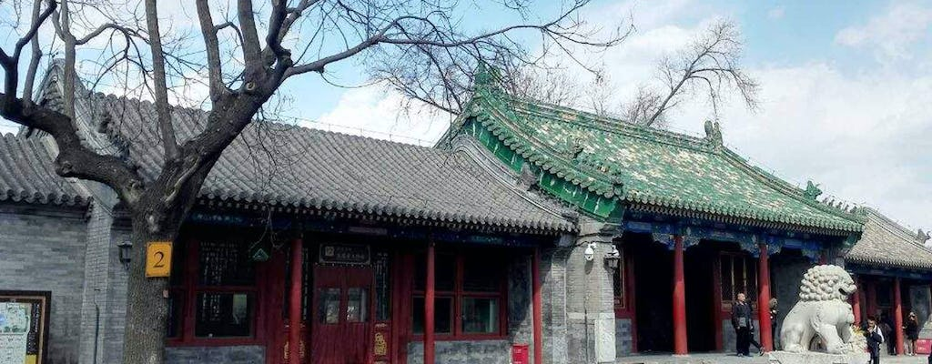 Beijing impression full-day tour of Tiananmen, Forbidden City, Jingshan Park and Hutongs